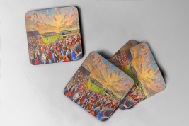 somerset park Coaster set of four